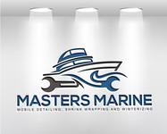 Masters Marine Logo - Entry #232