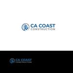 CA Coast Construction Logo - Entry #245