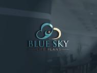 Blue Sky Life Plans Logo - Entry #192