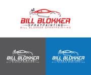 Bill Blokker Spraypainting Logo - Entry #104