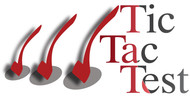 TicTacTest Logo - Entry #69
