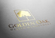 Golden Oak Wealth Management Logo - Entry #170