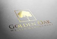 Golden Oak Wealth Management Logo - Entry #170