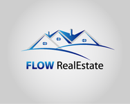 Flow Real Estate Logo - Entry #45
