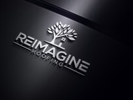Reimagine Roofing Logo - Entry #145