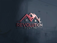 Revolution Roofing Logo - Entry #295