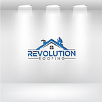 Revolution Roofing Logo - Entry #92