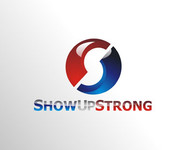 SHOW UP STRONG  Logo - Entry #107