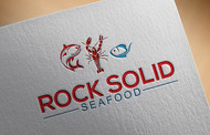 Rock Solid Seafood Logo - Entry #111
