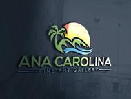 Ana Carolina Fine Art Gallery Logo - Entry #227