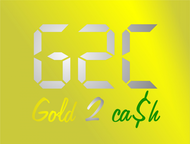 Gold2Cash Business Logo - Entry #38