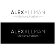 Alex Allman Logo - Entry #59