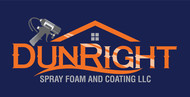 Dun Right Spray Foam and Coating LLC Logo - Entry #85