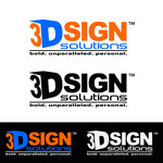 3D Sign Solutions Logo - Entry #113