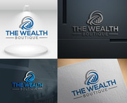 the wealth boutique Logo - Entry #72