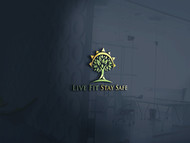 Live Fit Stay Safe Logo - Entry #155