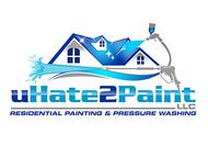 uHate2Paint LLC Logo - Entry #140