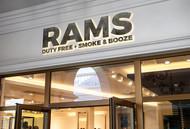 Rams Duty Free + Smoke & Booze Logo - Entry #4
