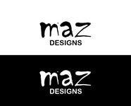 Maz Designs Logo - Entry #351