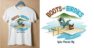 Boots and Birdies Logo - Entry #38