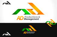 Corporate Logo Design 'AD Productions & Management' - Entry #109