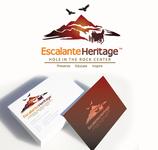 Escalante Heritage/ Hole in the Rock Center Logo - Entry #32