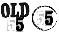 """""""OLD 55"""" - mid-century vintage furniture and wares store Logo - Entry #118"""