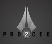 PRO2CEO Personal/Professional Development Company  Logo - Entry #36