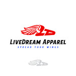 LiveDream Apparel Logo - Entry #459