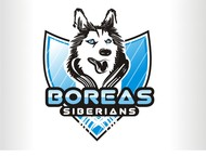 Siberian Husky Logo - Entry #27