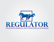 Regulator Thouroughbreds and Performance Horses  Logo - Entry #39