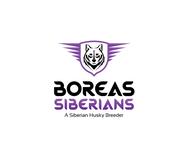 Siberian Husky Logo - Entry #75