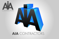 AIA CONTRACTORS Logo - Entry #126
