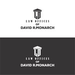 Law Offices of David R. Monarch Logo - Entry #17