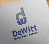 """DeWitt Insurance Agency"" or just ""DeWitt"" Logo - Entry #12"