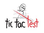 TicTacTest Logo - Entry #105