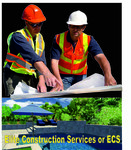 Elite Construction Services or ECS Logo - Entry #258