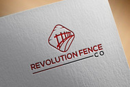 Revolution Fence Co. Logo - Entry #182