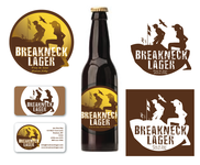 Breakneck Lager Logo - Entry #82