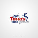 Texas Home Genie Logo - Entry #93