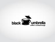 Black umbrella coffee & cocktail lounge Logo - Entry #106