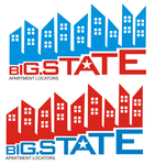 Big State Apartment Locators Logo - Entry #19