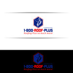 1-800-Roof-Plus Logo - Entry #26