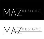 Maz Designs Logo - Entry #300