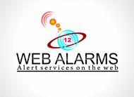 Logo for WebAlarms - Alert services on the web - Entry #52