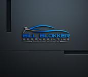 Bill Blokker Spraypainting Logo - Entry #94