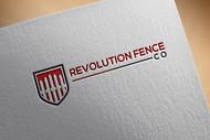 Revolution Fence Co. Logo - Entry #179