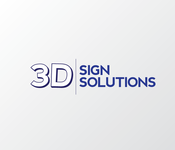 3D Sign Solutions Logo - Entry #74