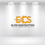 Elite Construction Services or ECS Logo - Entry #211