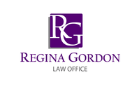 Regina Gordon Law Office  Logo - Entry #109